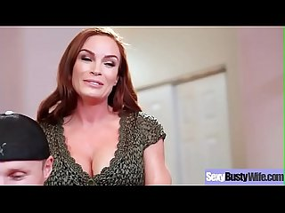 (Diamond Foxxx) Sexy Busty Housewife In Hardcore Sex Tape clip-12