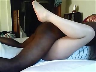 Amateur wife cheating with black stud