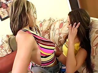 Julia and miko lesbian first time
