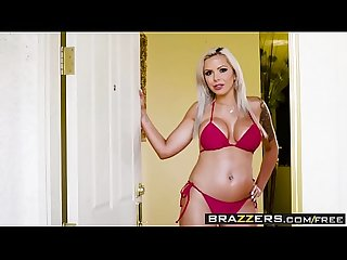 Brazzers mommy got boobs hot mom swims scene starring Nina elle and xander corvus