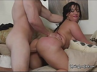 Fat latina bitch carmen about to come strong