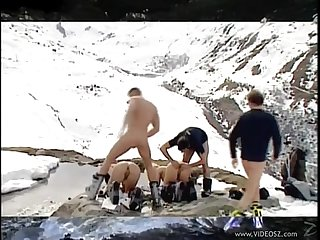 Orgy on the snow