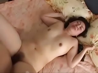Japanese Mom roughly squirted and fucked