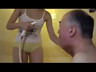 Japanese stroke old f. horny to see his sexy girl in bathroom LINK FULL HERE:..