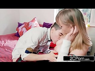 Fast Times On A First Date - Jordi & Hungarian Teen Jenny Diamond