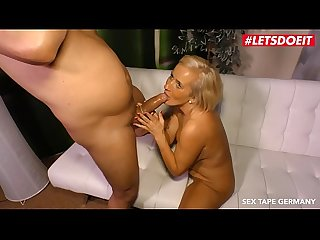 LETSDOEIT - Horny Granny Is Eager To Film Her First SEX Tape