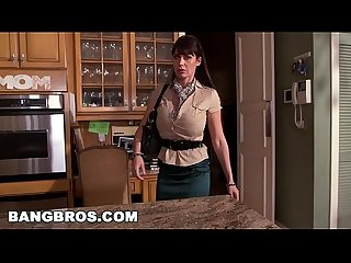Bangbros Milf stepmom eva karera catches teen holly hudson with boyfriend