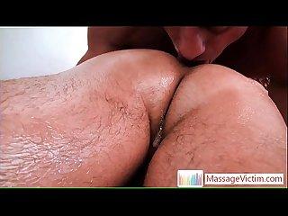 Nice skinny dude gets gay massage 3 by massagevictim