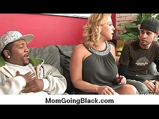 Horny milf gets fucked real hard in interracial porn video 25
