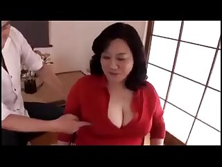 Busty japanese mom