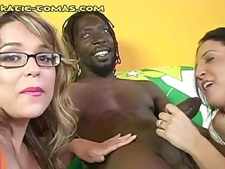 White women share dark meat