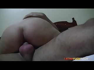 Perfect Booty Amateur Latina Rides Your Big Cock POV