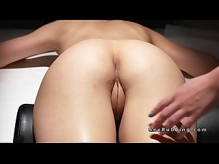 Lesbian massage and oil rub and oral