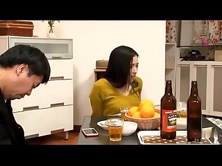 When Japanese Milf get molested by man, her husband fell asleep beside her - ReMilf.com