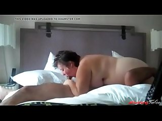 Fat busty mom sucks her son s cock