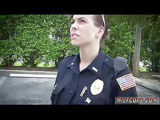 Teen caught by cop first time i will catch any perp with a huge