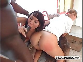 Super sexy nurses with milky assholes mj 1 03