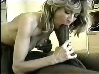 Milf and black guy get it on