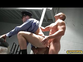 Cops goes gay suck dick and fucks anal
