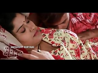 Indian Mallu Aunty porn bgrade movie with boobs press scene at bedroom wowmoyback