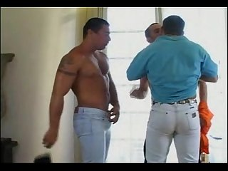 Hot brazilian guys threesome