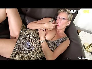 AMATEUR EURO - German Hot Matures Adrienne Kiss And Erna Shares Cock And Play With Dildo In Hot..