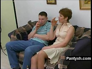 Beautiful horny pantyhose milf Secretly screwed