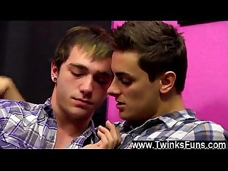 Hot twink scene kevin and ryan kick things off with some kinky face