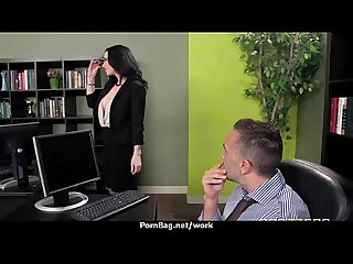 Office sex with busty women at work 20