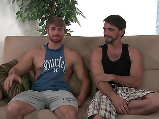 Joe Parker fucked by str8 muscle hunk buddy.