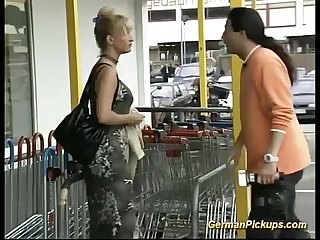 Stepmom picked up for anal