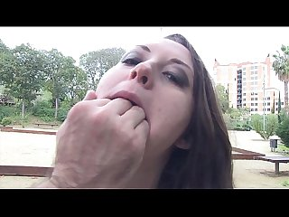 Chubby spanish girl on her first porn audition