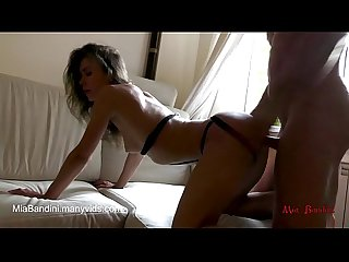 Real female orgasm and passionate fuck with anal cum in mouth mia bandini