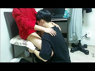 Korean guy suck his friend S dick 3