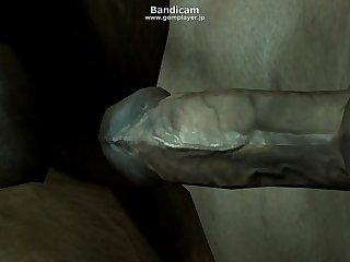 Gay Skyrim sideway fuck