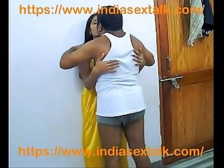 Indiasextalk com deshi unsatisfied mohini Aunty fucked by devar in home alone
