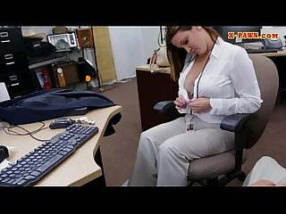 Bigtits business Lady nailed by pawn man in the backroom