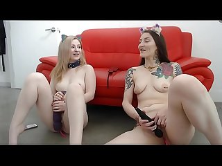 Cam Session 19-07-06 Girl Girl Double Ended Dildo Fun
