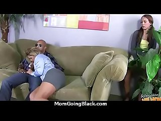Monster black cock bangs my moms white pussy 6