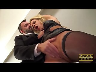 Cum eating uk skank anally destroyed by rough sex