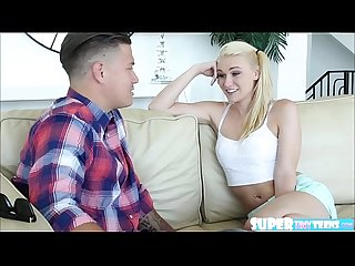 Attractive and petite jessie young gets fucked by dude from internet