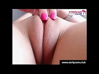 Awesome clean pussy on webcam