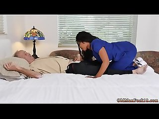 Daddy partner's daughter secret creampie Glenn finishes the job!