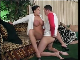Hot milf knows what to do with his cock from sluttymilf69 com