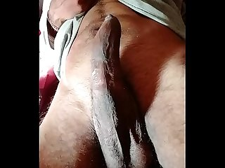 Pulsating cock ready to fuck