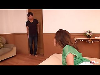 Squirting japanese creampied teen