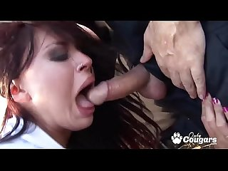 British Babes Alexis May And Eva Angelina Have Sex in Public