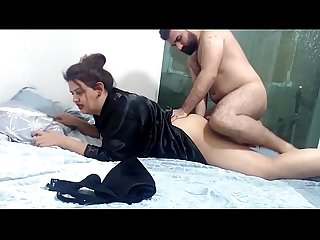 INDIAN WOMAN FUCKED BY FRIEND'S HUSBAND IN THE ASS