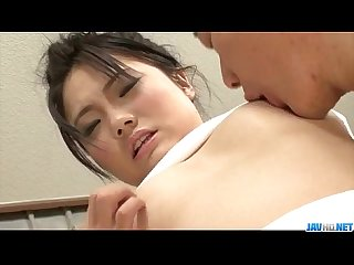 Haruna Katou enjoys two cocks in a rough threesome�
