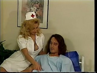 Voluptuous nurse